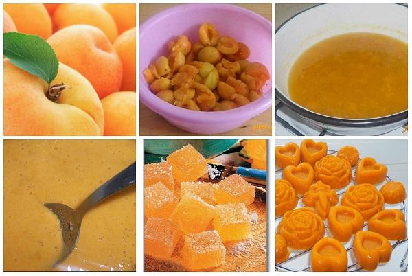 фруктовый мармелад с глюкозой
